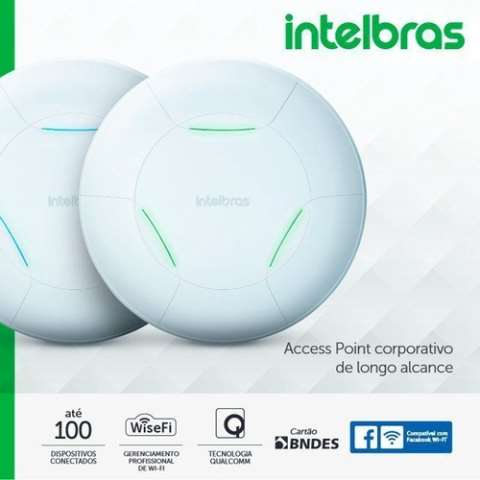 ROTEADOR AP 360 ACCESS POINT 300 MBPS WI-FI